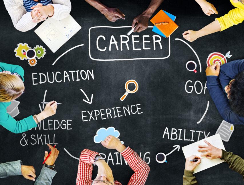 Career,Job,Goal,Expertise,Skill,Talent,Concept
